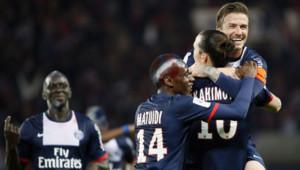 Belle victoire pour le PSG le 18 mai 2013
