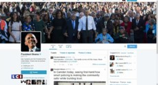 Captain America salut l'arrivée de Barack Obama sur Twitter