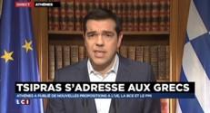 """Crise en Grèce : Tsipras """"a fermé les banques pour faire voter le peuple"""""""