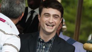 L'acteur anglais Daniel Radcliffe à Venise le 1er septembre 2013