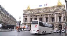 Le 20 heures du 28 janvier 2015 : Paris sans cars et camions : le compte à rebours est enclenché - 111.825