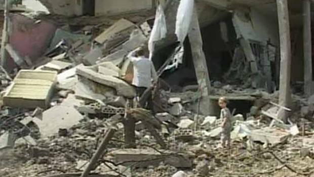 Liban décombres tyr