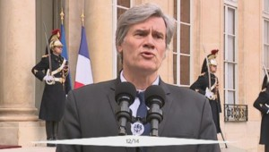 Stéphane Le Foll à la sortie du Conseil des ministres, le 4 janvier 2016.