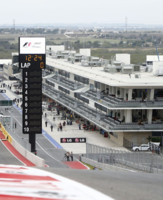 Austin Circuit F1 2012