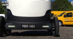Ces robots-facteurs déambuleront dans quelques jours dans les rues suisse