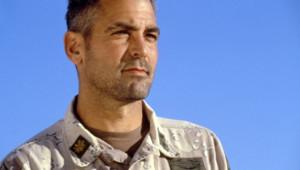 George Clooney dans le film Les Rois du désert