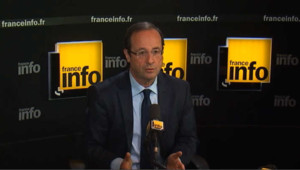 """Hollande : """"c'est dès le 1er tour que le choix doit se faire"""""""