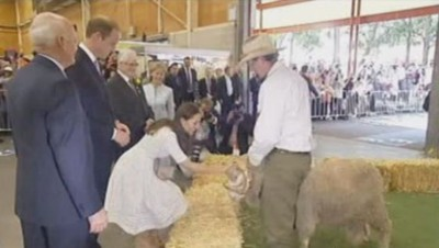 Kate et William en Australie
