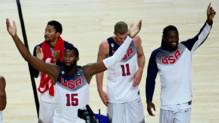 L'équipe américaine a remporté le Mondial de basket 2014 en s'imposant face à la Serbie (129-92). (14/09/2014)