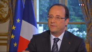 Le 20 heures du 25 juin 2013 : INTERVIEW. L%u2019offensive europ�ne de Fran�s Hollande - 1182.5140000000001