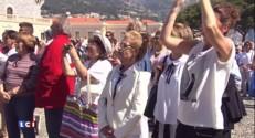 Jour de fête à Monaco pour le baptême des jumeaux princiers, Jacques et Gabriella