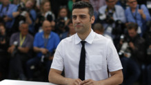 L&#039;acteur Oscar Isaac lors du photo-call du film Inside Llewyn Davis  Cannes le 19 mai 2013.
