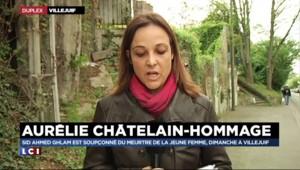 Marche blanche à la mémoire d'Aurélie Châtelain à Villejuif
