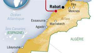 Maroc : carte de localisation de Casablanca
