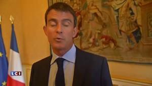 """Valls : """"Ce n'est pas en quelques mois qu'on réussit à redresser le pays"""""""