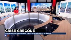 """Valls : un """"langage de fermeté"""" et """"une main tendue aux Grecs"""""""
