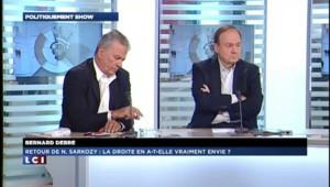 "Bernard Debré : ""Je ne vois pas Nicolas Sarkozy revenir prendre l'UMP"""