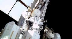 Deux astronautes de l'ISS