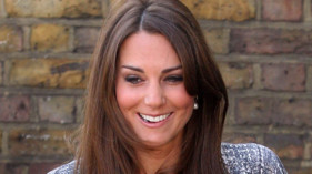 Kate Middleton, la duchesse de Cambridge, à Londres le 19 février 2013