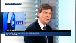 """Montebourg : """"Sarkozy se bat pour gagner pour garder son immunité"""""""