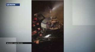 Mort du PDG de Total : les premières images du crash