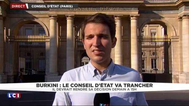 Burkini : le Conseil d'État statuera vendredi à 15 heures
