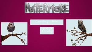 Le site Pottermore.com