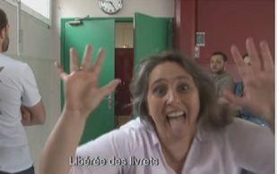 """""""Libérée, des livrets"""" : enfin en vacances, une directrice d'école parodie """"La Reine des neiges"""""""