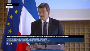 """Montebourg après la démission du gouvernement : """"Je vais retourner travailler parmi les Français"""""""