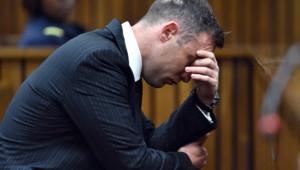 Oscar Pistorius, usé moralement le jour de son procès.