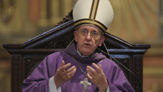 Portrait du nouveau pape, François Ier (13 mars 2013)