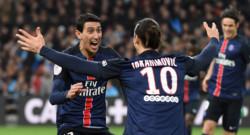 PSG Zlatan Ibrahimovic Angel Di Maria football