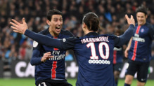 PSG Zlatan Ibrahimovic Angel Di Maria football