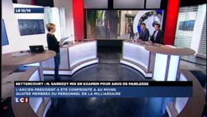 """Sarkozy mis en examen : Philippot ironise sur """"la défense en dessous de tout"""" de l'UMP"""