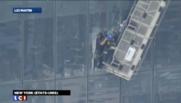 Sauvetage de laveurs de carreaux piégés au 69e étage du World Trade Center
