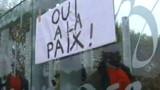 Rassemblement pour la paix à Paris