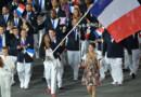La délégation française lors de la cérémonie d'ouverture des JO de Rio.