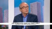 """Loi Travail : """"La CGT se radicalise"""" dénonce Ivan Rioufol, éditorialiste au Figaro"""