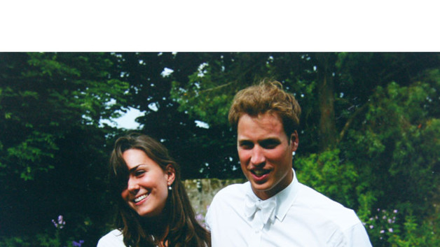 Kate Middleton et Prince William jeunes
