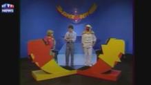 Super Défi en 1983 avec Christophe Dechavanne
