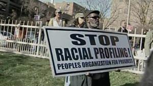 TF1 / LCI Manifestation de la communauté noire, après la mort de Sean à New York, le 27 novembre 2006
