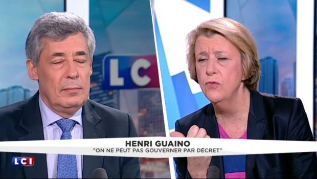 """""""Trop c'est trop"""", Guaino dénonce la course """"aux solutions libérales ou ultralibérales"""" de l'opposition"""