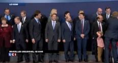 Conseil européen : quand Herman Van Rompuy pose avec ses petits enfants