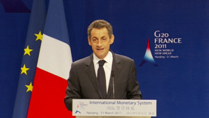 G20 : Nicolas Sarkozy à Nankin
