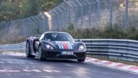 La Porsche 918 Spyder réalise le record du Nürburgring Nordschleife en septembre 2013