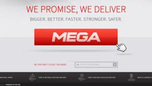 Le site Mega de Kiml DotCom la veille de son lancement