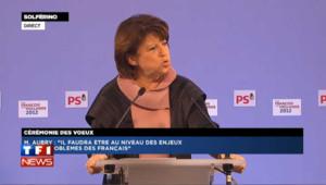 Le voeux de Martine Aubry à Nicolas Sarkozy