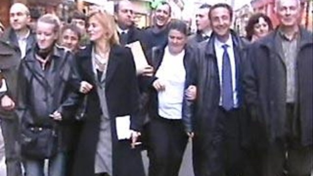 Les acquittés d'Outreau, en 2005