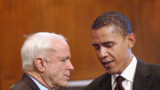McCain et Obama planchent ensemble