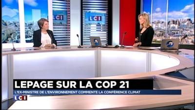Corinne Lepage sur la COP 21